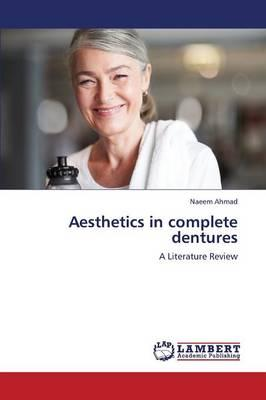 Aesthetics in complete dentures
