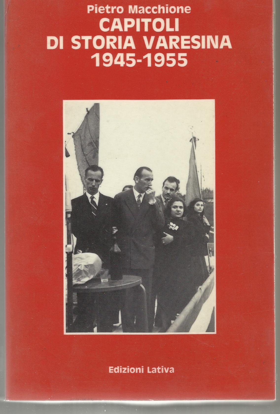Capitoli di storia varesina, 1945-1955