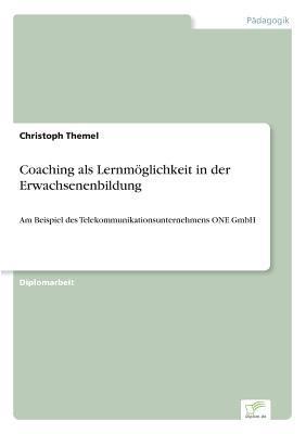 Coaching als Lernmöglichkeit in der Erwachsenenbildung