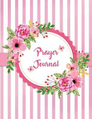 Prayer Journal Notebook Ring of Flowers