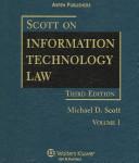 Scott on Information Technology Law