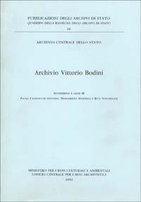 Archivio Vittorio Bodini