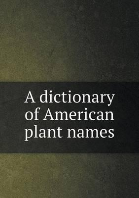 A Dictionary of Amer...