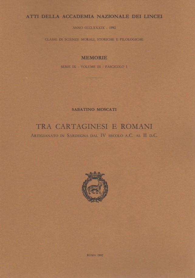 Tra cartaginesi e romani