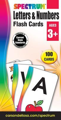 Spectrum Letters & Numbers Flash Cards