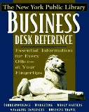 The New York Public Library business desk reference
