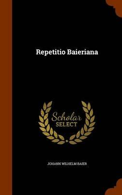 Repetitio Baieriana