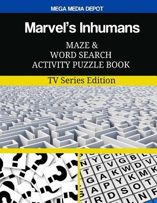 Marvel's Inhumans Maze and Word Search Activity Puzzle Book