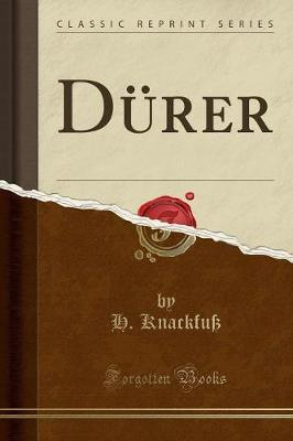 Dürer (Classic Reprint)