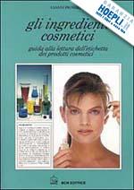 Gli ingredienti dei Cosmetici