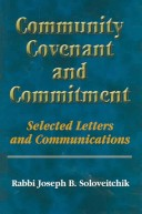 Community, Covenant And Commitment