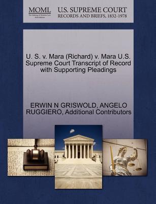 U. S. V. Mara (Richa...