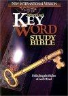 Bib the Hebrew-Greek Key Word Study Bible  Niv Bonded Burgundy Lthr. Plain