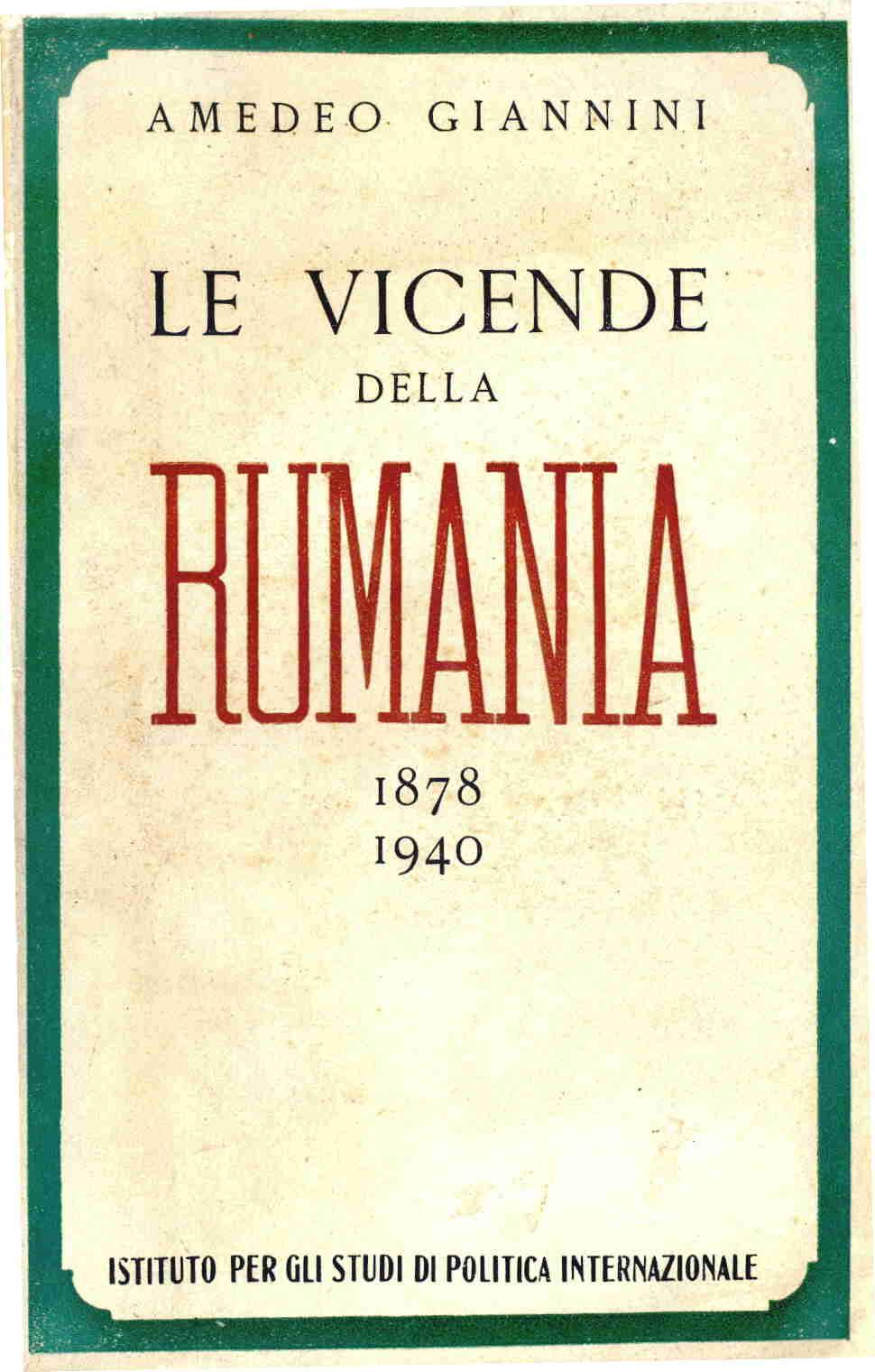 Le vicende della Rumania