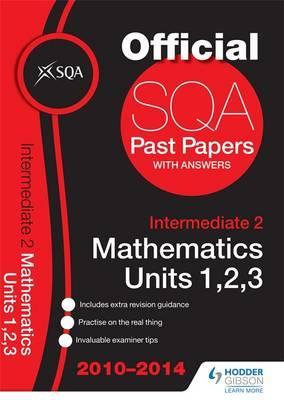 SQA Past Papers 2014-2015 Intermediate 2 Mathematics Units 1, 2, 3