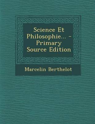 Science Et Philosoph...