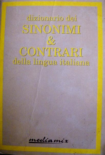 Dizionario dei sinon...