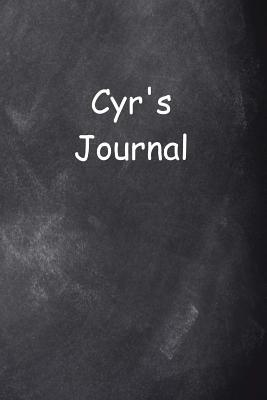 Cyr Personalized Name Journal