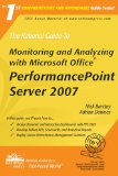 The Rational Guide To Monitoring and Analyzing with Microsoft Office PerformancePoint Server 2007
