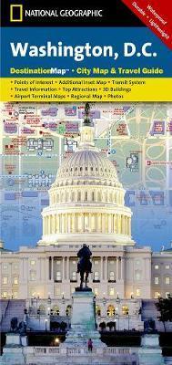 National Geographic Destination Map Washington D.C.