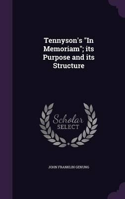 Tennyson's in Memori...