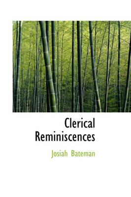 Clerical Reminiscences