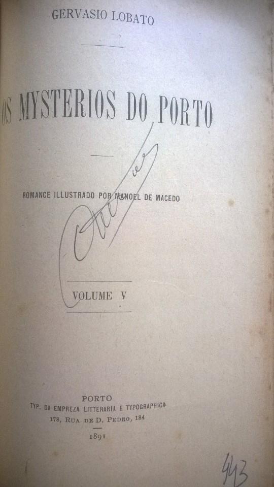 Os mysterios do Porto, 5