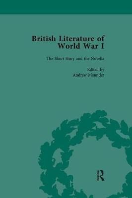 British Literature of World War I, Volume 1