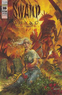 Swamp Thing di Brian K. Vaughan n. 16