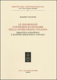 Le insorgenze controrivoluzionarie nella storiografia italiana