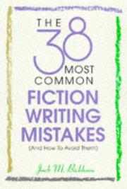38 Most Common Fiction Writing Mistakes