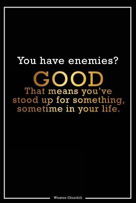 You Have Enemies? Go...