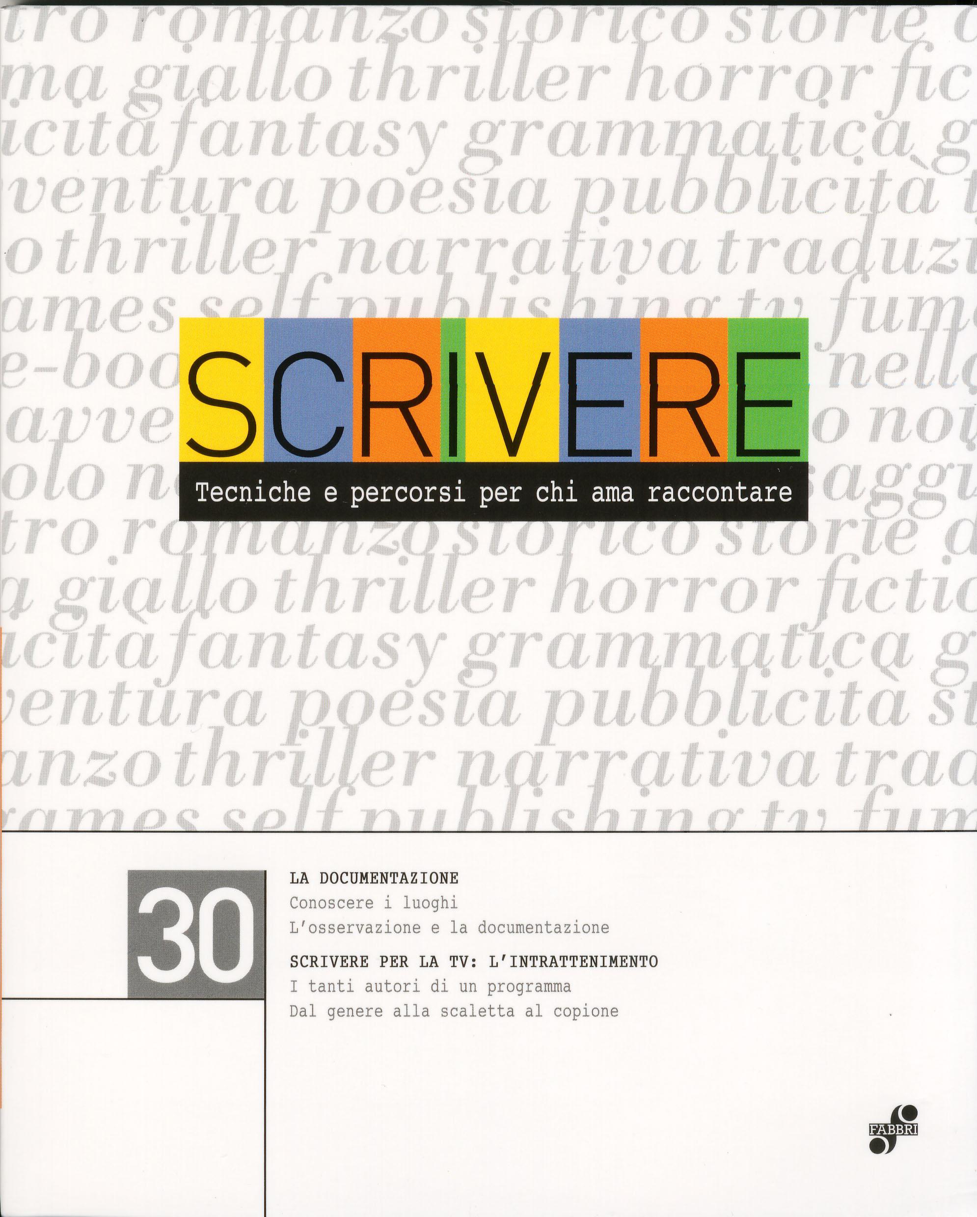 Scrivere - vol. 30