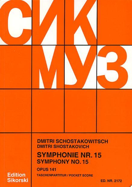 Symphonie nr.15 op.141