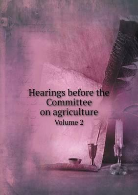 Hearings Before the ...