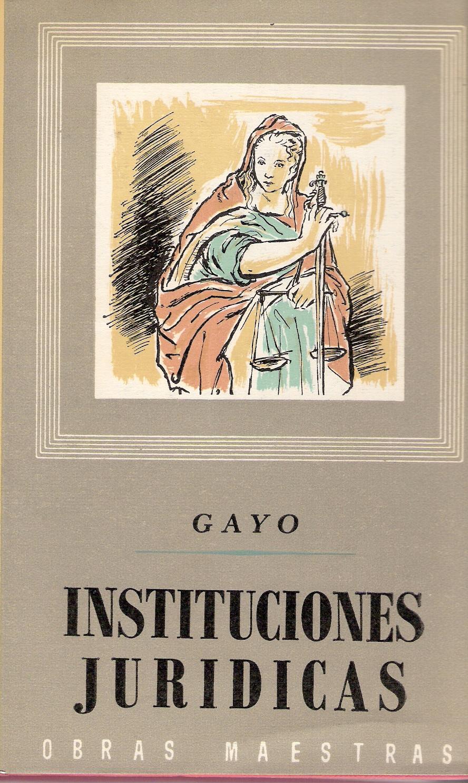 Instituciones jurídicas