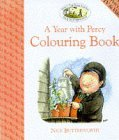 A Year with Percy Colouring Book