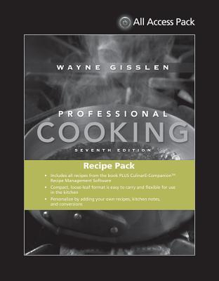 All Access Pack Recipes to Accompany Professional Cooking