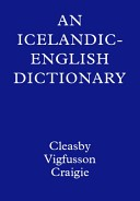 An Icelandic-English dictionary