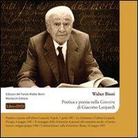 Poetica e poesia nella «Ginestra» di Giacomo Leopardi. Con DVD