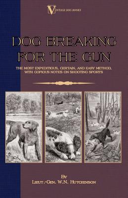 Dog Breaking for the Gun