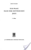 Gesammelte Aufsätze / Zur Frage nach dem historischen Jesus