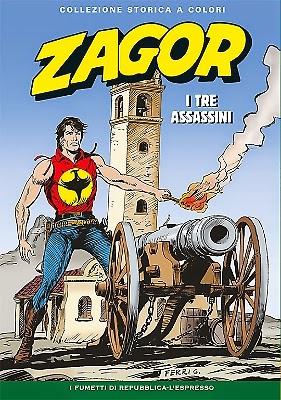 Zagor collezione storica a colori n. 170