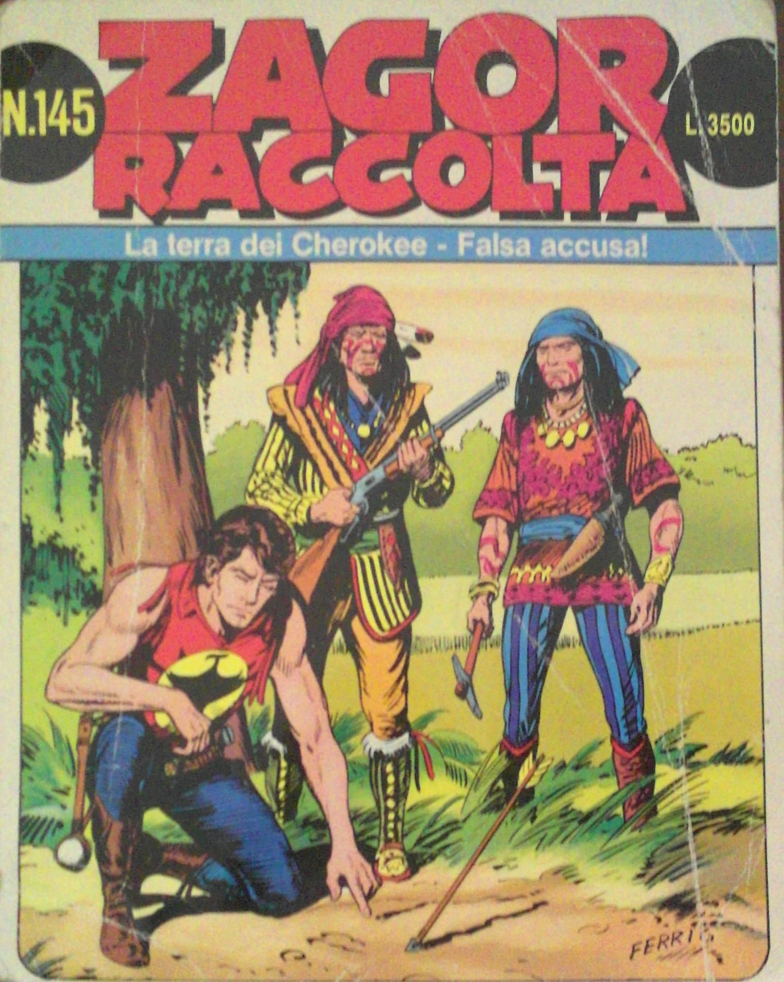 Zagor Raccolta n.145