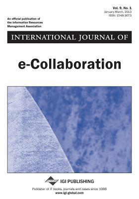 International Journal of E-Collaboration, Vol 9 ISS 1
