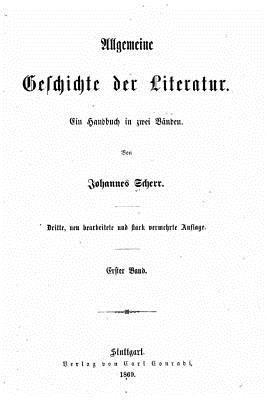 Allgemeine Geschichte Der Literatur