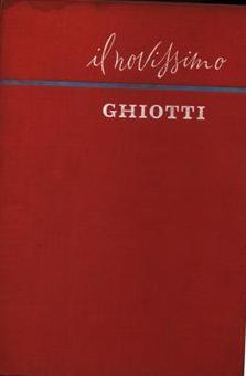 Il novissimo Ghiotti