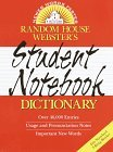Random House Webster's Student Notebook Dictionary