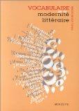 Vocabulaire de la modernité littéraire