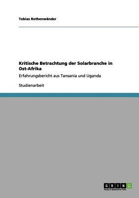 Kritische Betrachtung der Solarbranche in Ost-Afrika